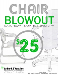 chair blowout
