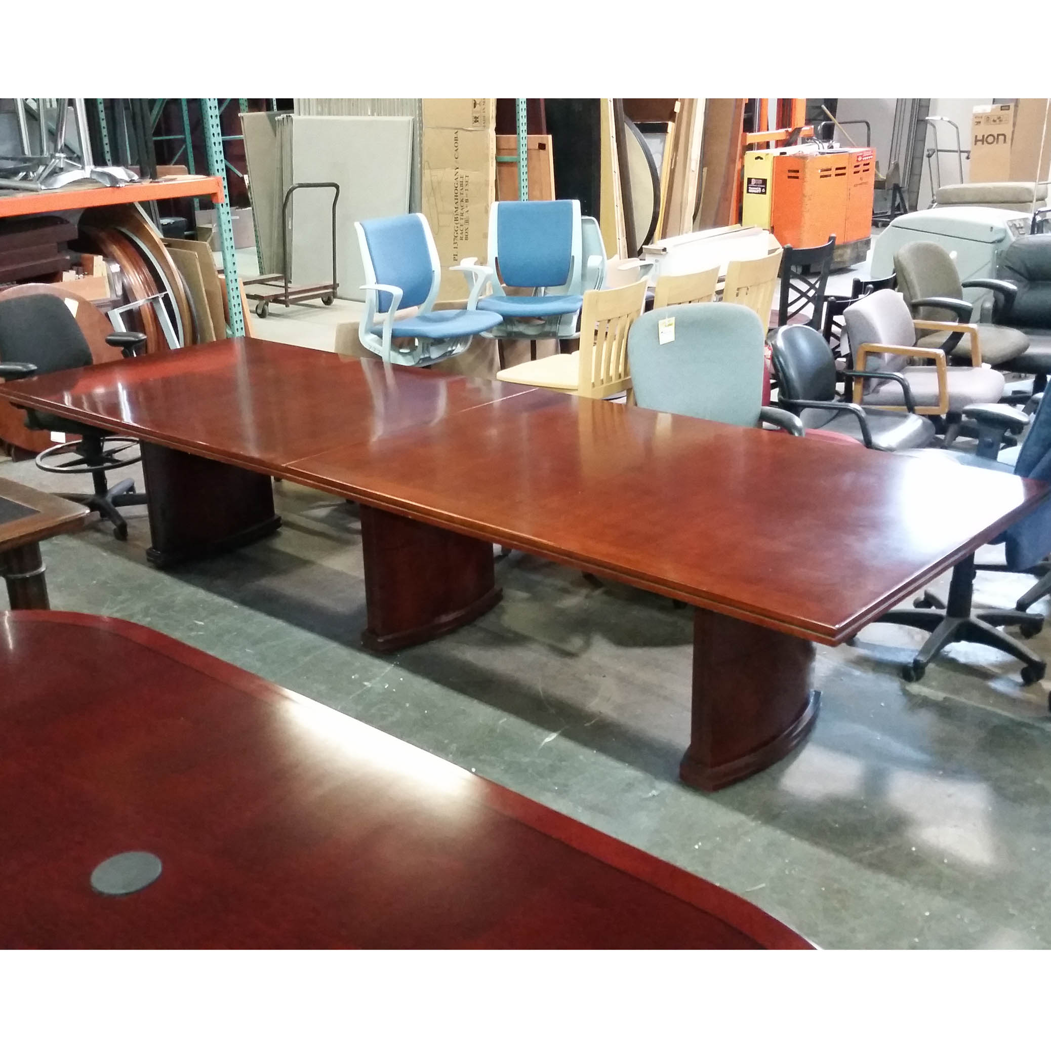 12 39 veneer conference table arthur p o 39 hara for 12 conference table