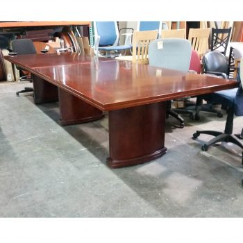 Used 12' Veneer Conference Table