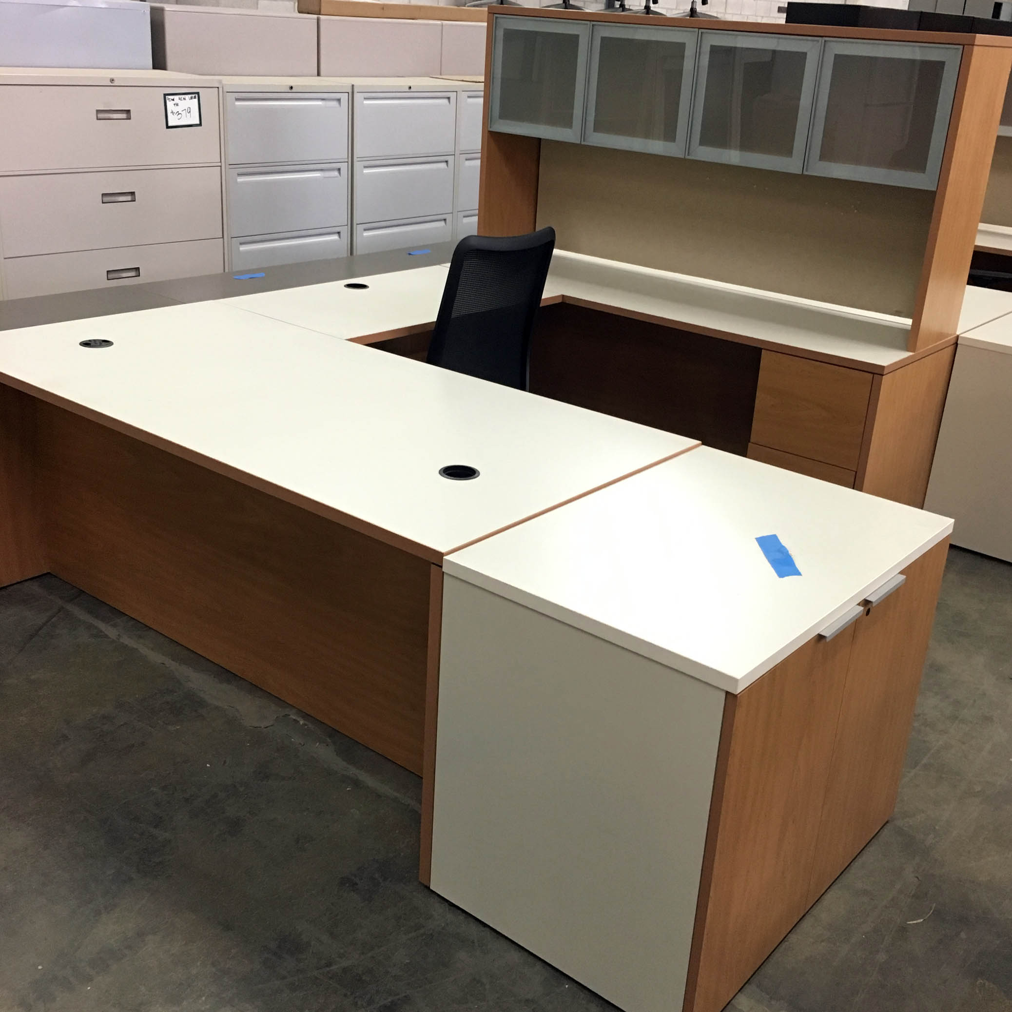 products credenza desk l new used stations indianapolis u desks shop