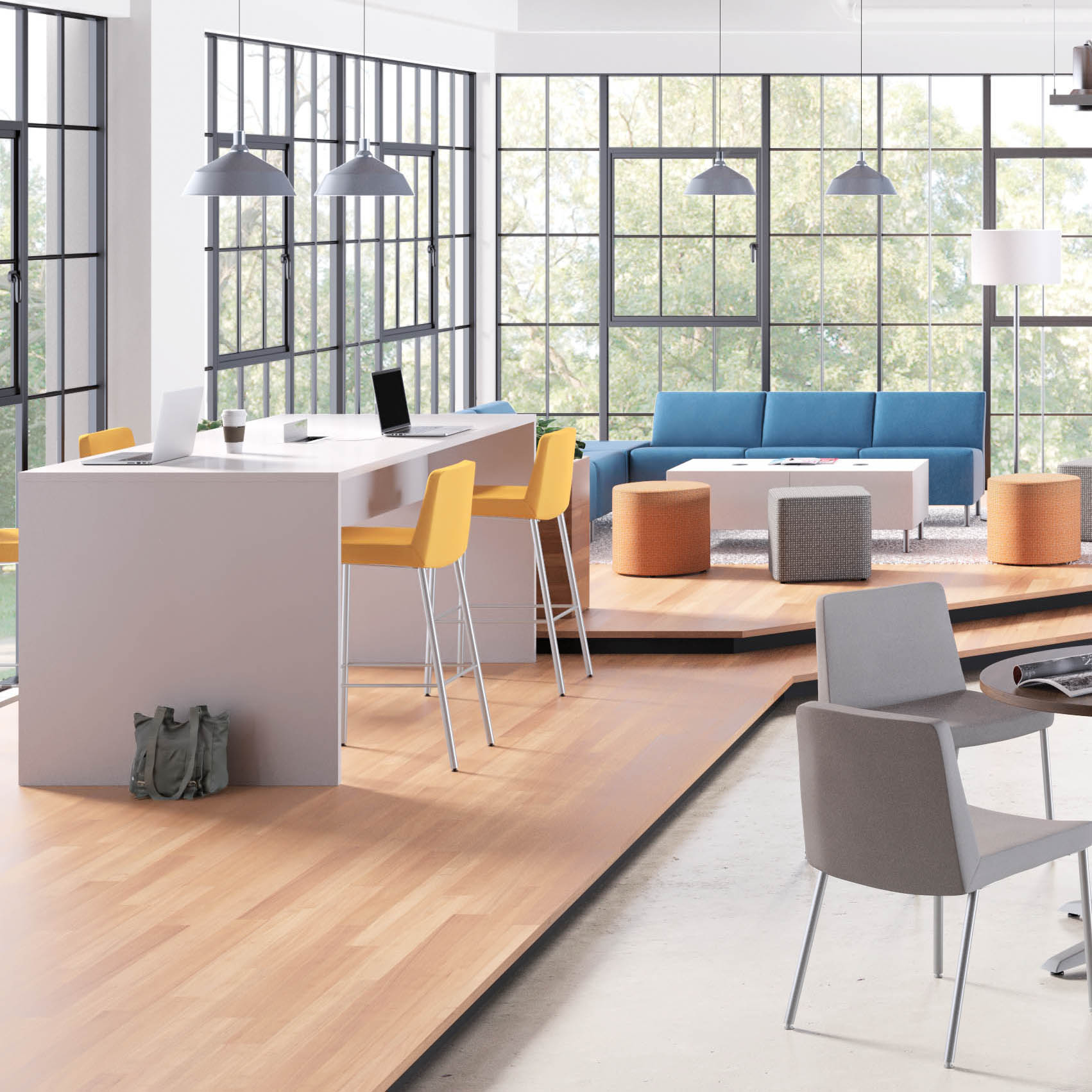 Preside Tables HON New Office Furniture Arthur P OHara Inc - Hon preside table
