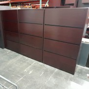 Used HON 36W 4-Drawer Lateral File