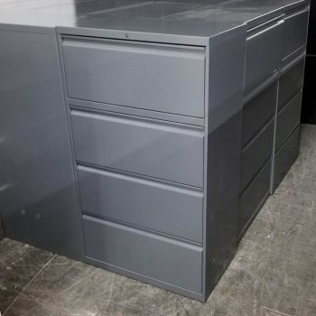 Used HON 4-Drawer Lateral File