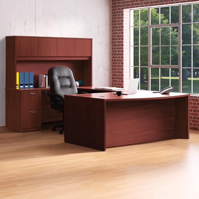 U-Shape Rental Desks - Office Furniture