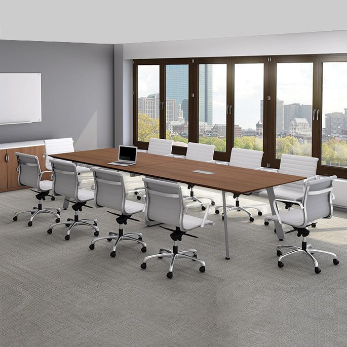 Office Furniture: 14' Rental Conference Table