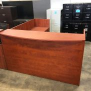 Used Performance Cherry Reception Desk