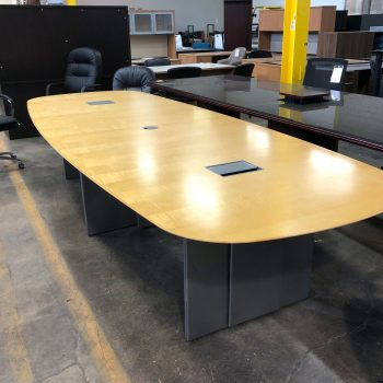Used 12' HBF Conference Table
