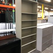 Used HON 6 Shelf Bookcase