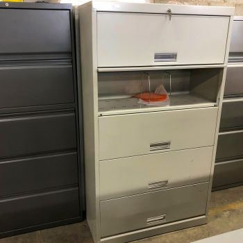 Used HON 36W Medical Shelf File