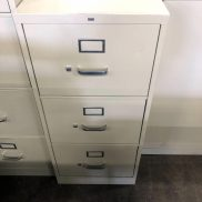 Used HON 3-Drawer Vertical File (Legal)