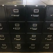 Used HON 4-Drawer Vertical File (Letter)
