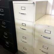Used HON 4-Drawer Vertical File (Legal)