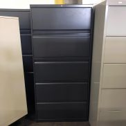 Used 30W 5-Drawer Lateral File