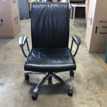 Used Leather Conference Chair