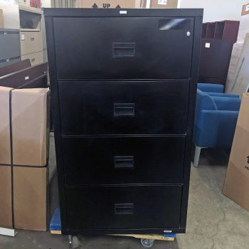 Used HON 31W 4-Drawer Lateral File
