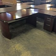 Used Mayline L-Shape Desk