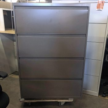 Used Steelcase 36W 4-Drawer Lateral File