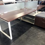 Used HON Voi Benching Desks