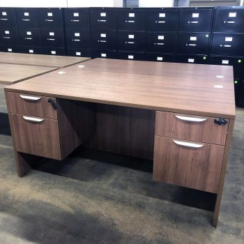 Used Double Pedestal Desk