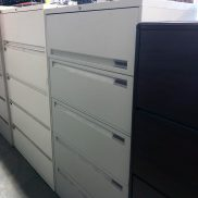 Used Steelcase 36W 5-Drawer Lateral File