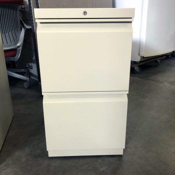 Used HON 2-Drawer Pedestal