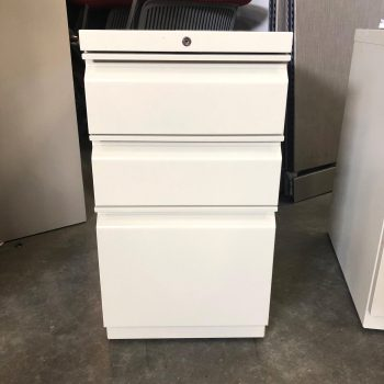 Used HON 3-Drawer Pedestal