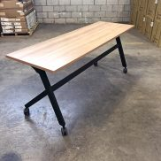 Used 6' Harvest Training Tables