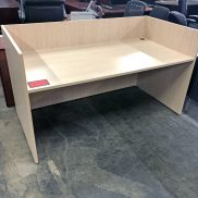 Used Straight Desk