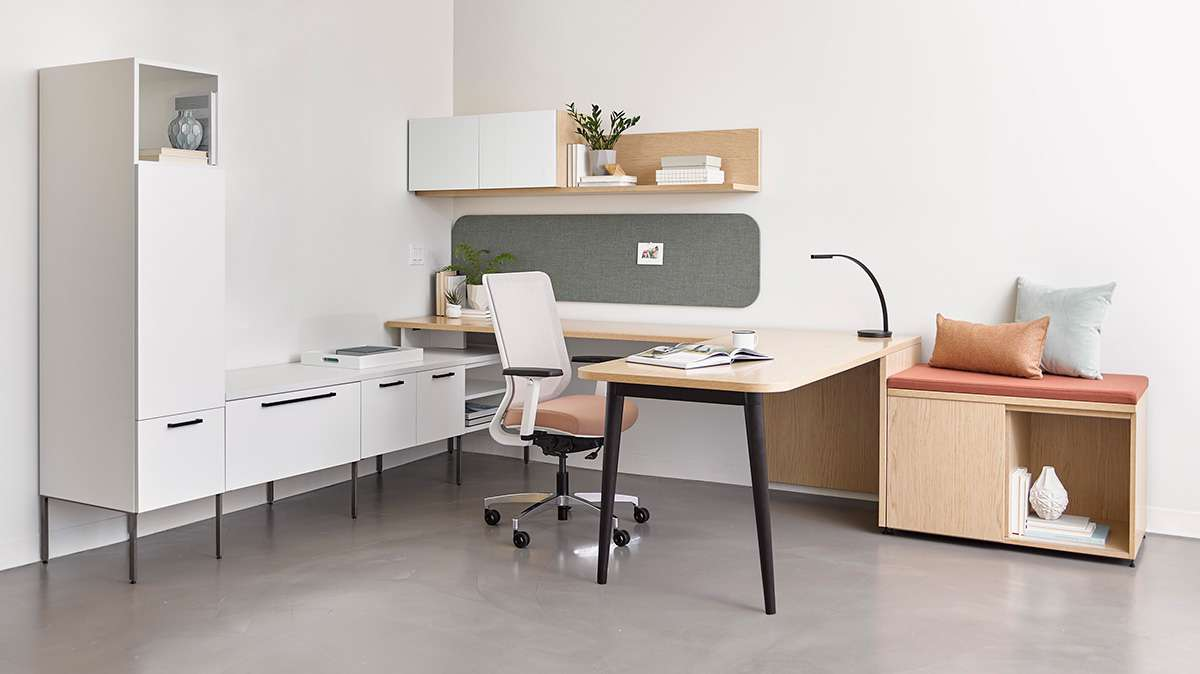 Staks Desking Ofs Office Furniture Arthur P O Hara Inc