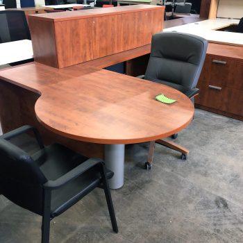 U-Shaped Peninsula Desk