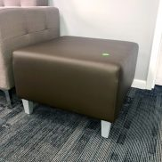 Flock Square Ottoman Showroom Sample