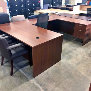 Used HON Foundation U-Shape Desk
