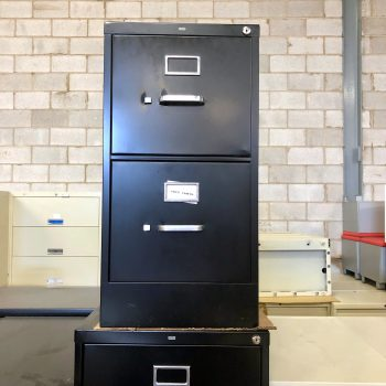 Used HON 2-Drawer Vertical File