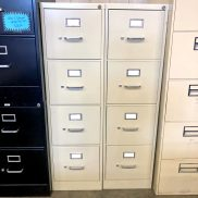 Used HON 4-Drawer Vertical File