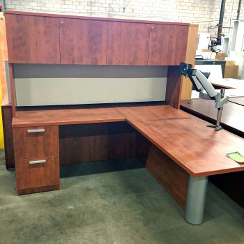 Used Turnstone L-Shape Desk
