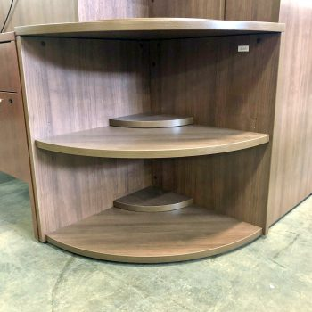 Used 2-Shelf Corner Bookcase