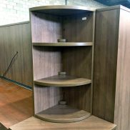 Used 3-Shelf Corner Bookcase