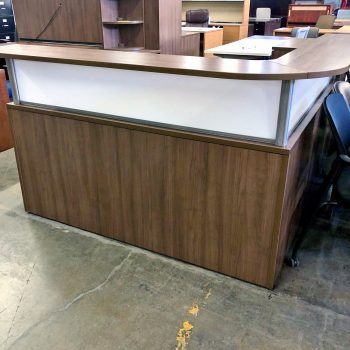 Used PL Reception Desk
