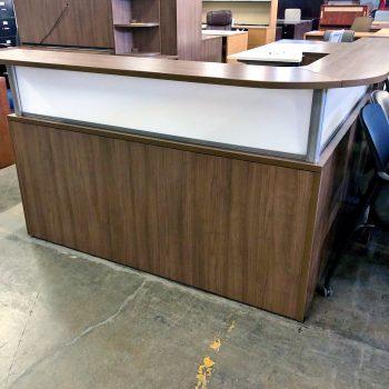 Used PL Reception Desk