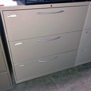 Used HON 36W 3-Drawer Lateral File