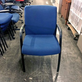 Used Ignition Blue Guest Chair